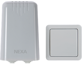 Utomhusmottagare på/av IP44 paket - 3500W - Nexa IPR-3500/IPT-1501