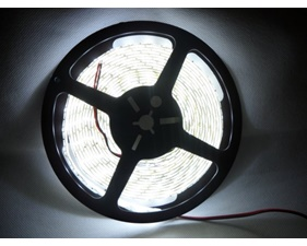 LED Cold White Weatherproof flexi-strip 30 LED/m 12V - (1 m)