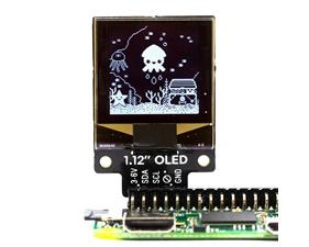 "1.12"" Mono OLED (128x128, white/black) Breakout"