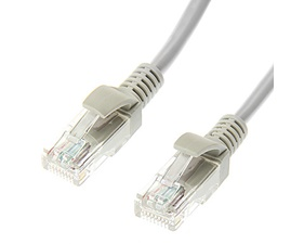 Nätverkskabel UTP Cat5e patchkabel 2m, grå
