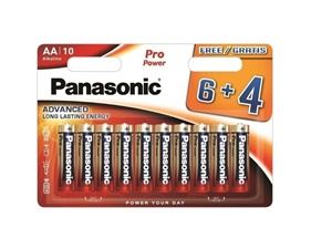 Pro Power Alkaline-batterier, AA (LR06), 1,5V, 10-pack