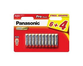 Pro Power Alkaline batteries, AAA (LR03), 1,5V, 10 pack