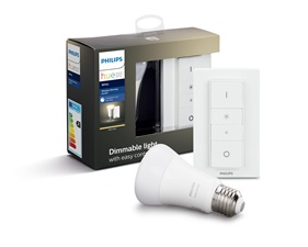 Hue White DIM kit 9W A60 E27