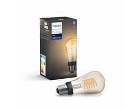 Hue White Filamentlampa 7W ST64 E27