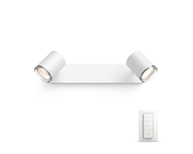 Philips Hue Adore Spot White 2x5.5W IP44 230V