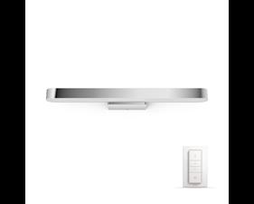 FYND Philips Hue Adore Vägglampa till Spegel - Krom - IP44 230V