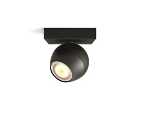 Philips Hue Buckram Svart 1x5,5W - Med Hue Dim Switch