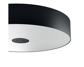 Philips Hue Fair White Ambiance Ceiling Black 1x39W - With Hat Dim Switch
