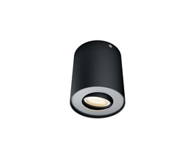 Philips Hue Pillar Svart 1x5,5W - Med Hue Dim Switch