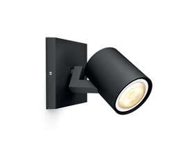Philips Hue Runner Black 1x5,5W - With Hue Dim Switch