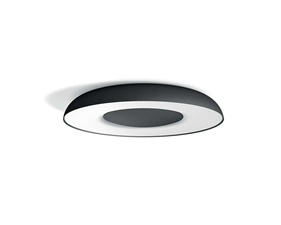 Philips Hue Still Ceiling Lamp Black 1x32W - With Hue Dim Switch