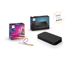 BUNDLE: Hue Play HDMI sync box + Gradient Lightstrip 55 tum