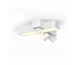 Taklampa & spotlights - Centris Hue special cross form white 3x5.7W