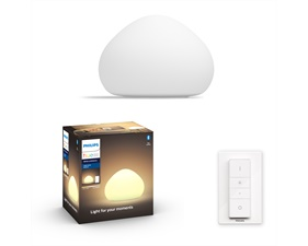 Hue Wellner White Ambiance 1x9,5W - Med Hue Switch