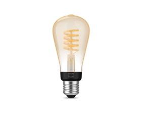 Hue White Ambiance Filament lamp 7W ST64 E27
