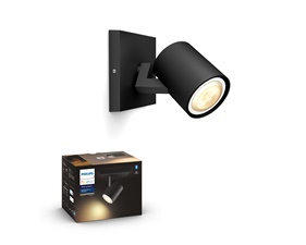 Philips Hue Runner Svart 1x5,5W