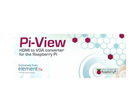 Pi-View Official Raspberry Pi HDMI to VGA Convertor