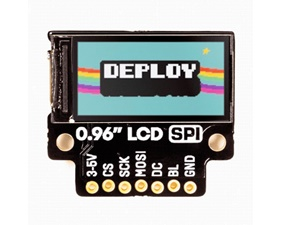 0.96 SPI Colour LCD (160x80) Breakout