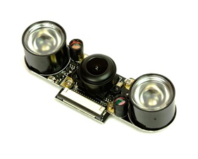 Night vision camera module for Raspberry Pi – 160° (Fisheye)