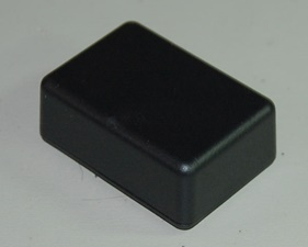 Plastic box small, Black