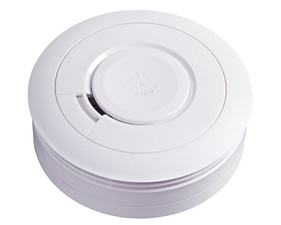 FYND Smoke Detector / Wireless Siren - 10 year battery