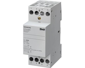 Bistable Switch/Contactor, 230V 25A 4S (4-polig) - Siemens