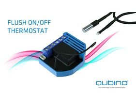 Flush On/Off Thermostat 10A - Gen5 - Qubino