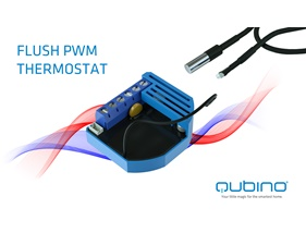 FYND Flush PWM Thermostat - Qubino