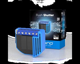 Inbyggnadsmodul för rullgardiner - Flush shutter - Gen5 - Qubino