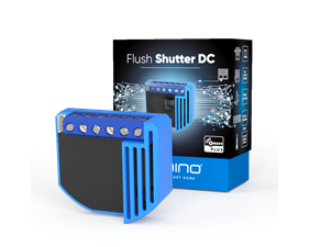 Inbyggnadsmodul för rullgardiner - Flush Shutter DC