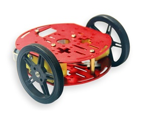 2WD Round Smart Car Kit
