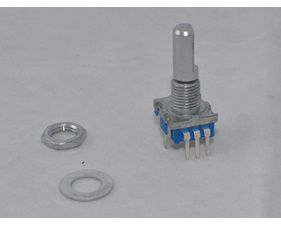 Rotary Encoder 20p/v with switch - including washer and nut