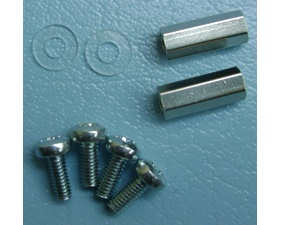 M2.5 Standoffs with screws for Pi HATs - metall - Pack of 2