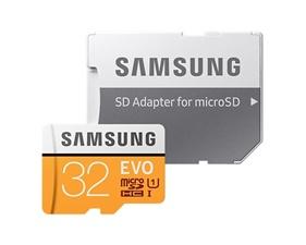 Samsung microSD EVO - 32GB / Class 10 / UHS-1 / Adapter