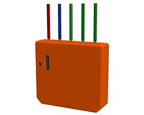 Infälld sändare med 3 kanaler WiFi  - Shelly i3