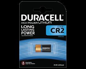 Batteri Lithium 3V CR2