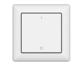 Wireless remote, single button with double action - ZigBee