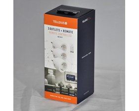 Paket - Pluginbrytare 3x3680W + fjärrkontroll - 312537 - Telldus
