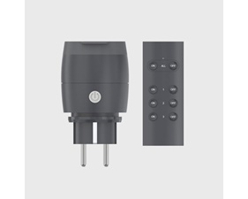 Plug-in relä IP 44 m fjärrkontroll - 3680W - Smart Outdoor Outlet