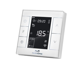 Electrical Heating Thermostat with humidity sensor