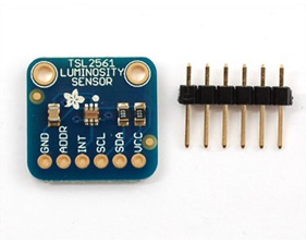 Adafruit TSL2561 digital luminosity / lux / light sensor