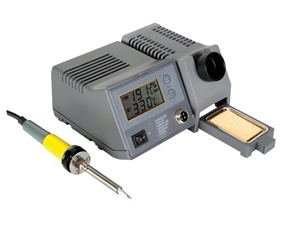 Soldering station with LCD and Ceramic heater 48W 150 - 450C