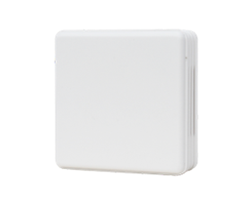 Plastic box white with air hole for wall mounting