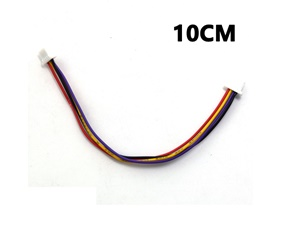 I2C Cable 100mm 10cm for LOLIN (WEMOS) SH1.0 4P double head cable