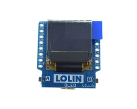 OLED Shield for WeMos D1 mini - 0.66 64x48 I2C