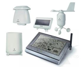 WMR200 Väderstation med trådlösa sensorer, PC-koppling, Solceller, stort minne