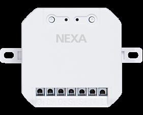 Brytare fast installation med 2 kanaler - 2x2300W - Nexa WMR-3000