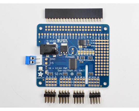 Köp Adafruit 16-Channel PWM / Servo HAT for Raspberry Pi - Mini Kit (2327)  för 279 Kr hos m nu