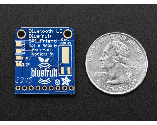 Köp Adafruit Bluefruit LE SPI Friend - Bluetooth Low Energy (BLE) (2633)  för 279 Kr hos m nu