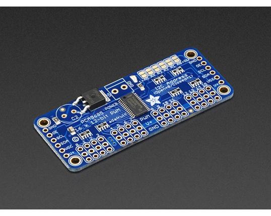 Köp Adafruit 16-Channel 12-bit PWM/Servo Driver - I2C interface - PCA9685  (815) för 239 Kr hos m nu